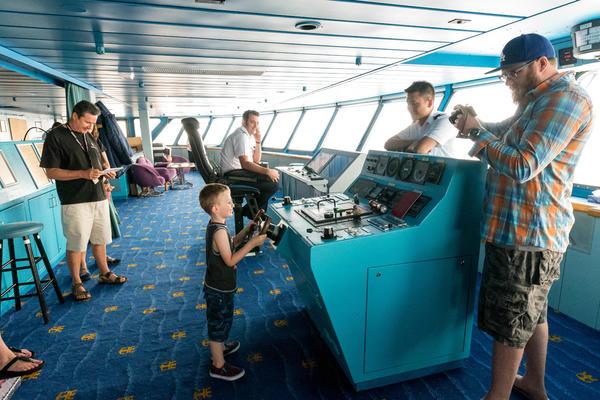 Bridge Tour on Legend of the Seas (Photo: Cruise Critic)