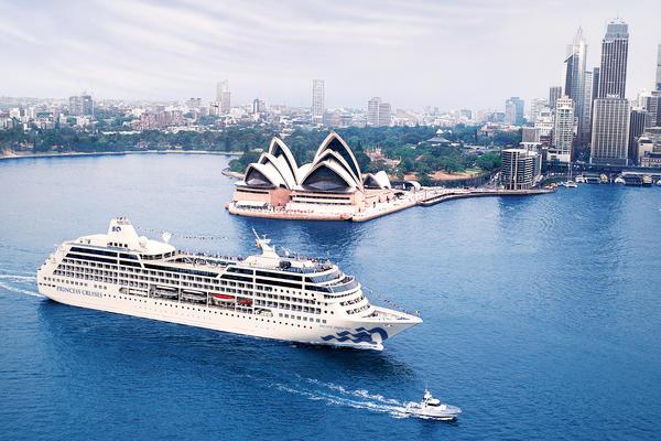 Pacific Princess in Sydney, Australia (Photo: Princess Cruises)