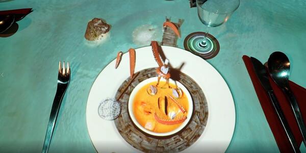Le Petit Chef restaurant at Qsine on Celebrity Cruises ship (Photo: Skullmapper)