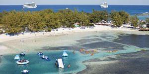 People Enjoying Various Activities in CocoCay (Photo: Royal Caribbean International)