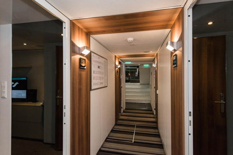 Hallways on Emerald Star