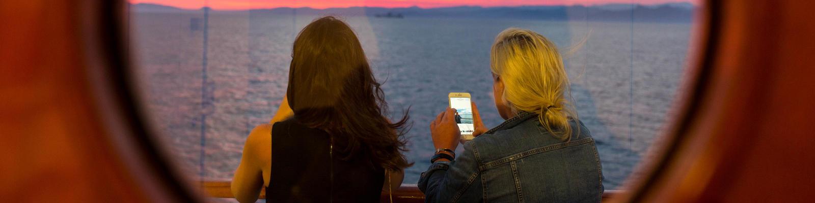 Using Wi-Fi at Sea (Photo: Cruise Critic)