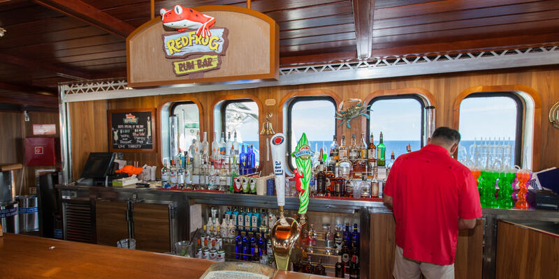RedFrog Rum Bar on Carnival Fantasy (Photo: Cruise Critic)