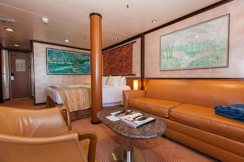 Grand Suite On Carnival Fantasy Cruise Ship