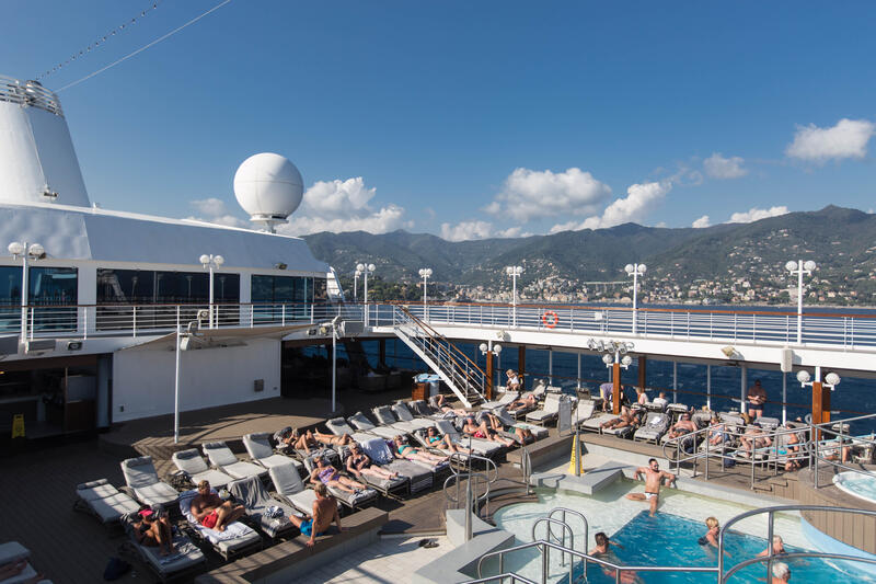 The Pool on Azamara Journey