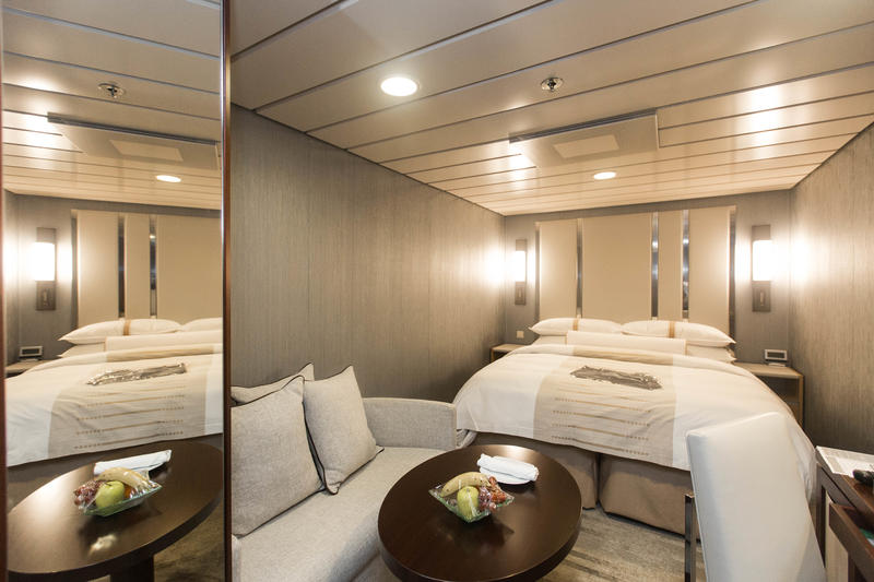 The Club Interior Cabin on Azamara Journey