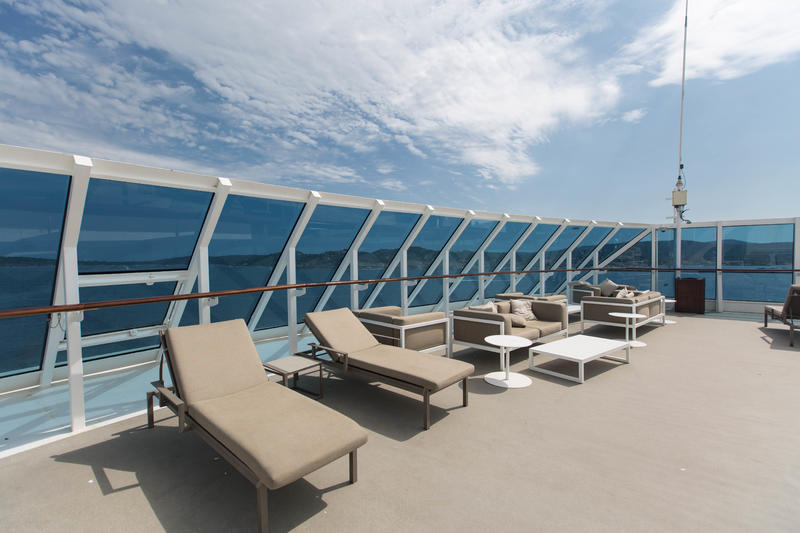 The Sun Deck on Azamara Journey