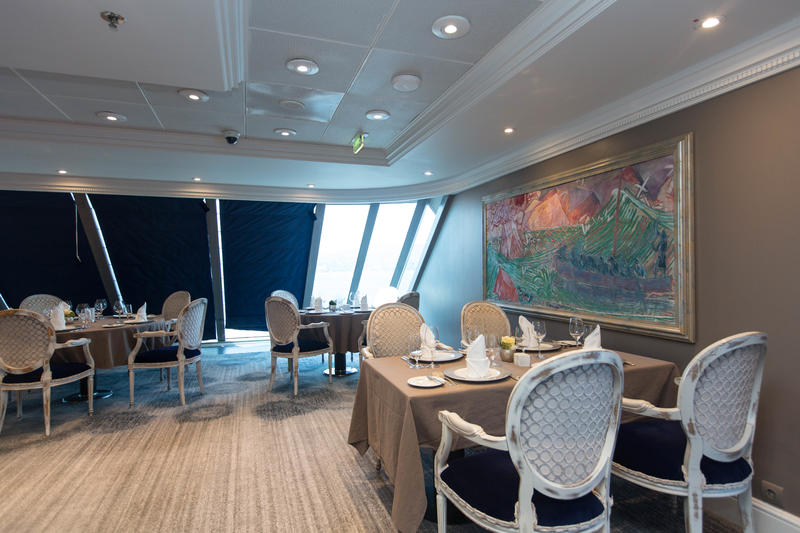 Aqualina Restaurant on Azamara Journey