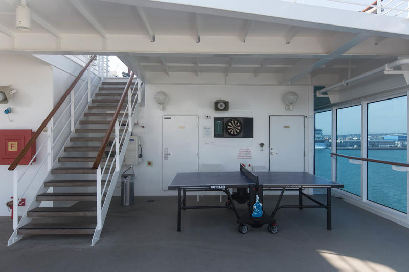 Ping Pong Tables on Azamara Journey