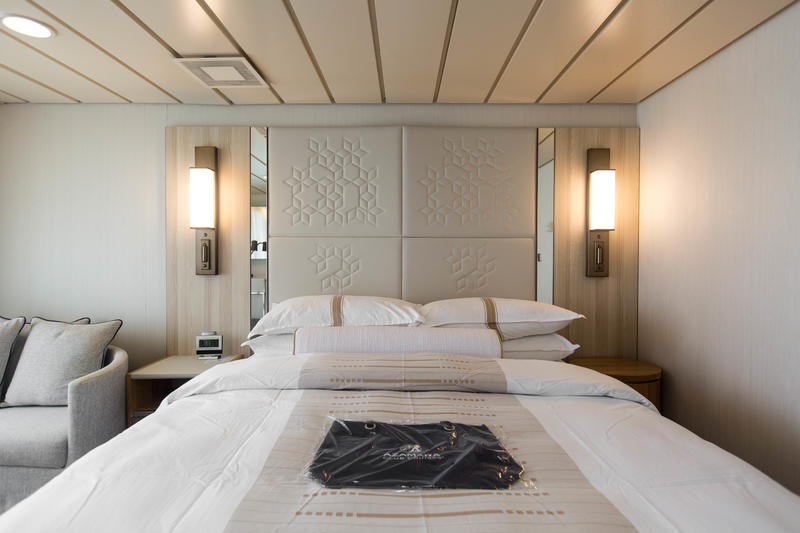 The Accessible Club Continent Suite on Azamara Journey