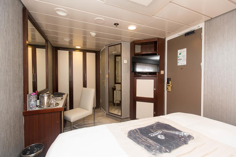 The Club Oceanview Cabin (Obstructed View) on Azamara Journey