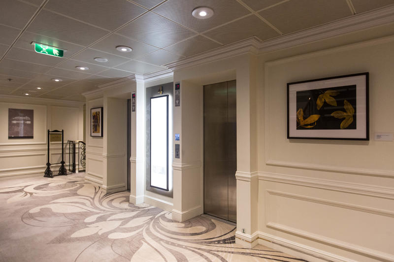 Elevators on Azamara Journey