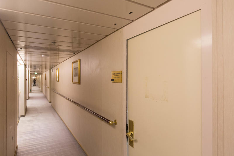 Hallways on Azamara Journey