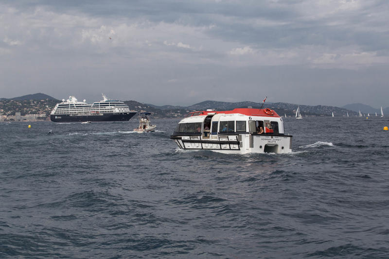 Tender Boats on Azamara Journey