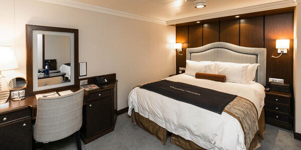 The Inside Stateroom on Riviera (Photo: Cruise Critic)