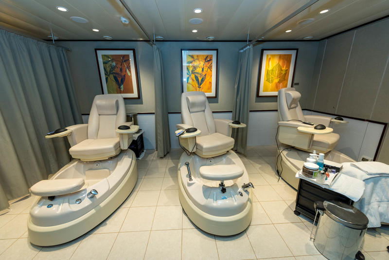 Beauty Salon on Queen Mary 2 (QM2)