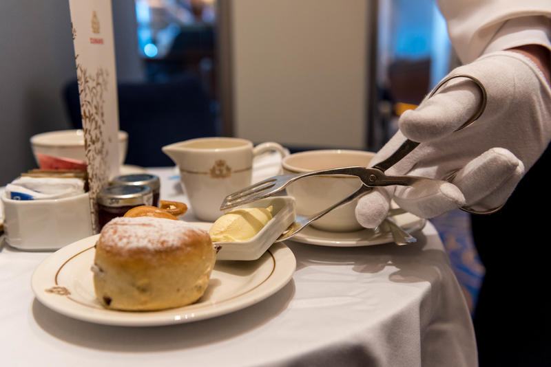 Afternoon Tea on Queen Mary 2 (QM2)