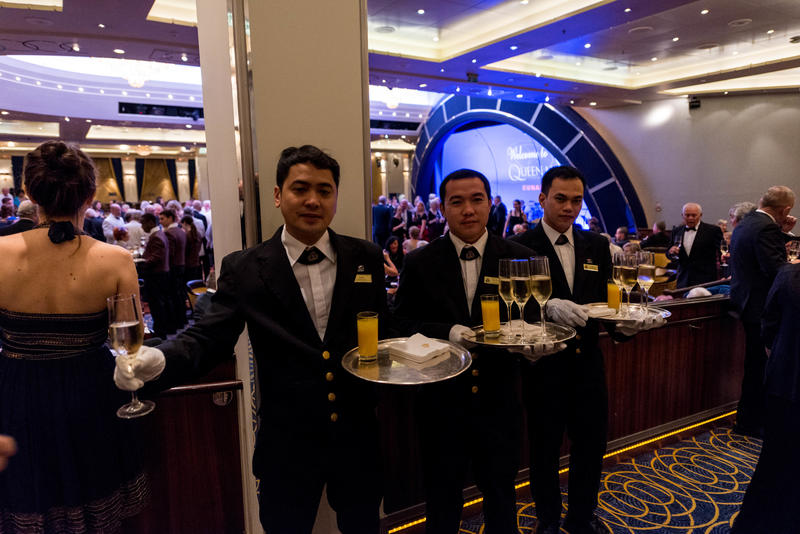 Meet the Captain Welcome Event on Queen Mary 2 (QM2)
