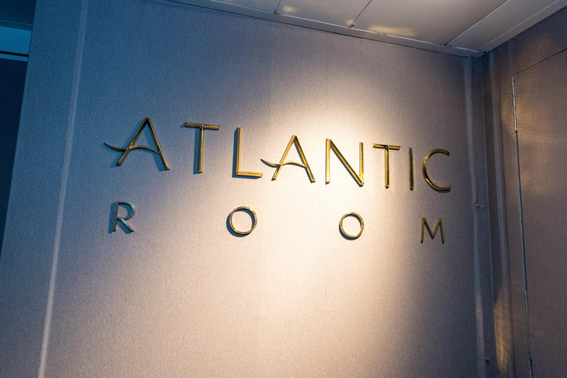 Atlantic Room on Queen Mary 2 (QM2)