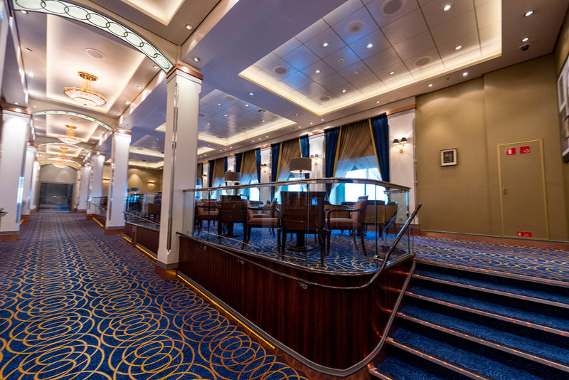 Queens Room on Queen Mary 2 (QM2)