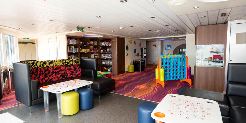The Kids Zone on Queen Mary 2 (QM2) (Photo: Cruise Critic)