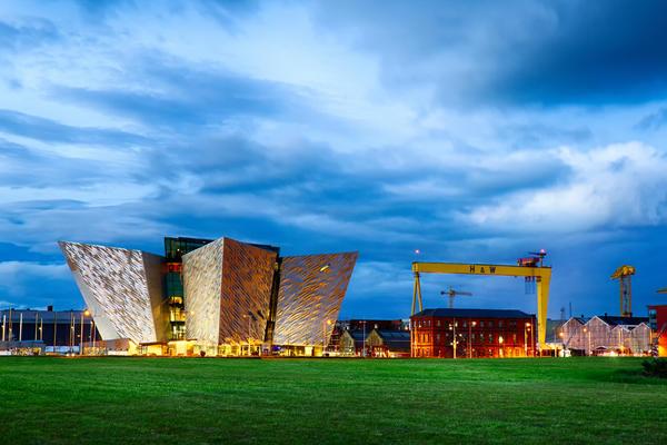 Titanic Belfast, Museum and Visitor Center in Belfast, Northern Ireland (Photo: James Kennedy NI/Shutterstock)