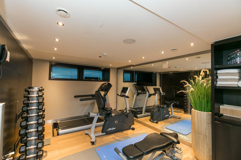 Fitness Center on Avalon Illumination