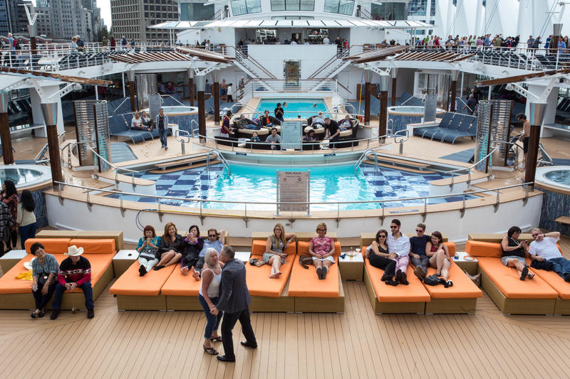 Sailaway Party on Celebrity Infinity