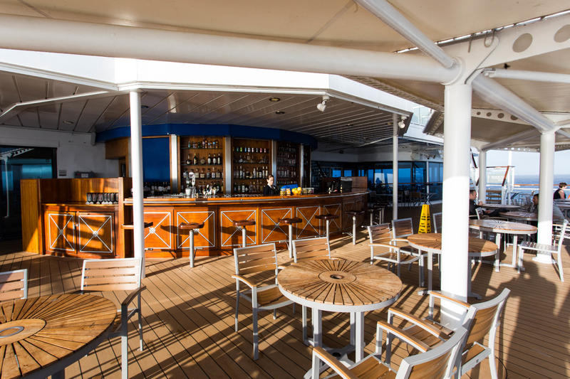 Oceanview Bar on Celebrity Infinity