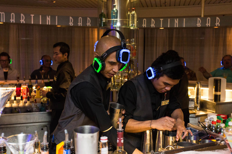 Headphone Party on Celebrity Infinity