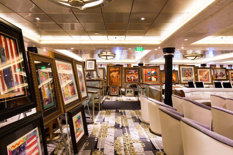 Art Auction on Explorer of the Seas