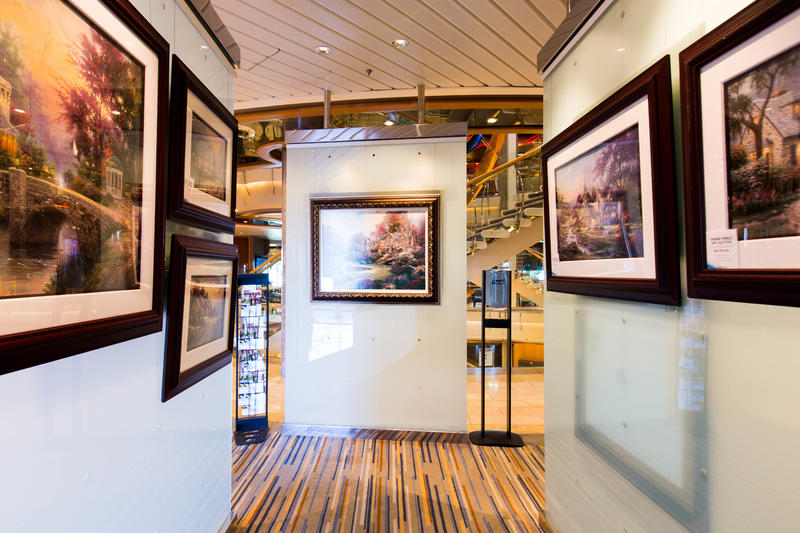 Art Gallery on Explorer of the Seas
