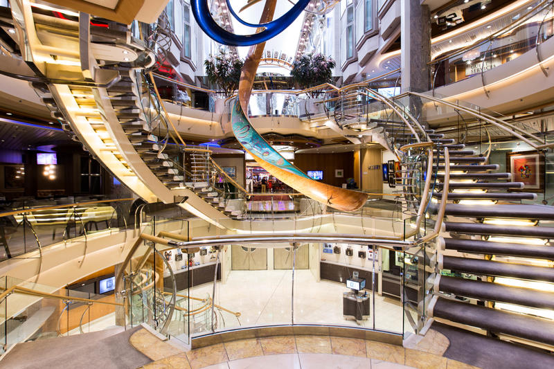 Atrium on Explorer of the Seas