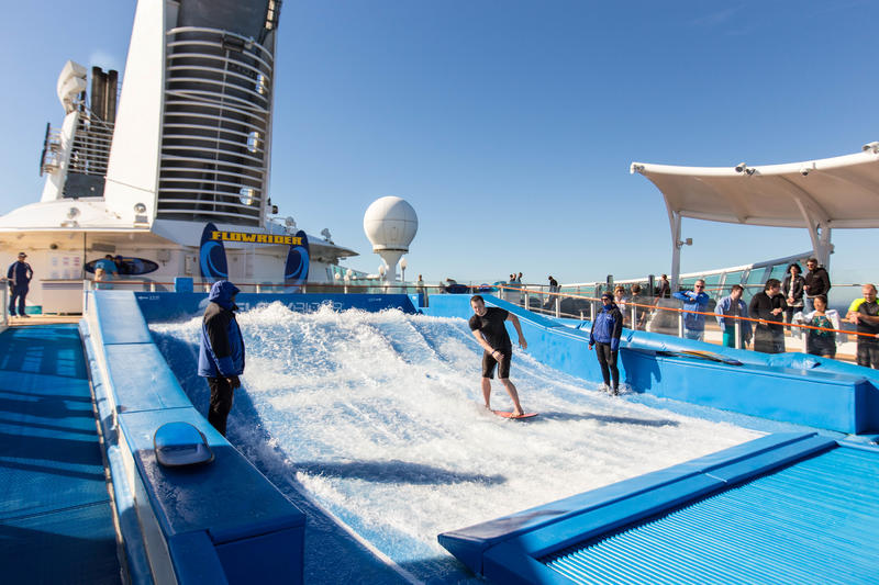 The FlowRider on Explorer of the Seas