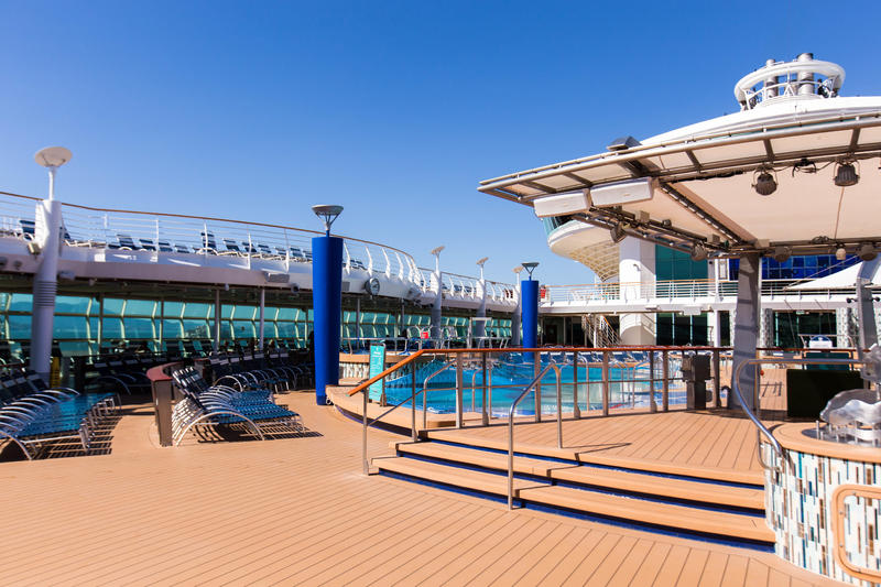 The Main Swimming Pools on Explorer of the Seas