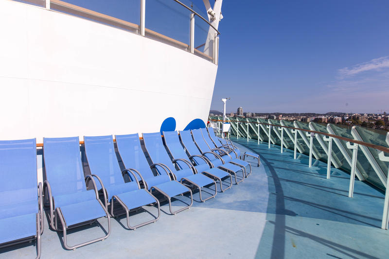 The Sun Deck on Explorer of the Seas