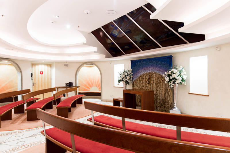 Skylight Chapel on Explorer of the Seas