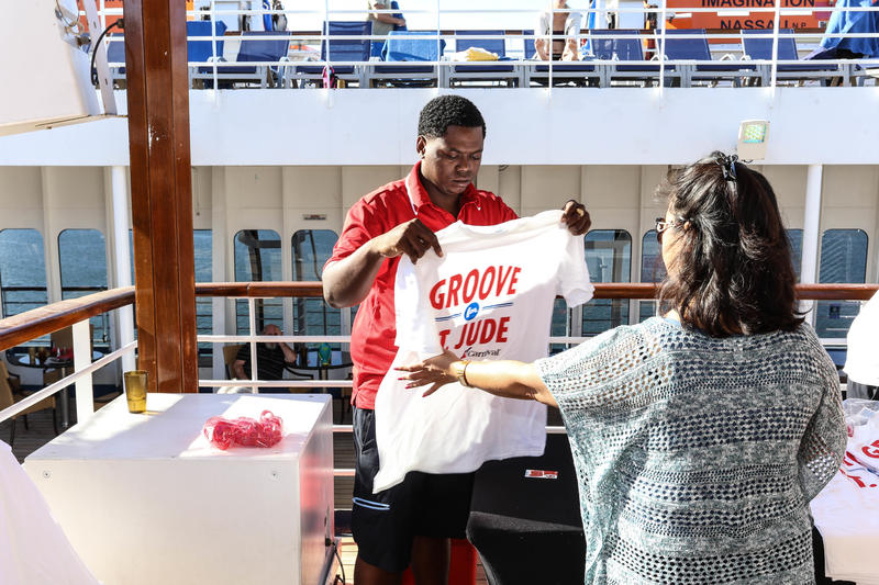 Groove for St. Jude on Carnival Imagination