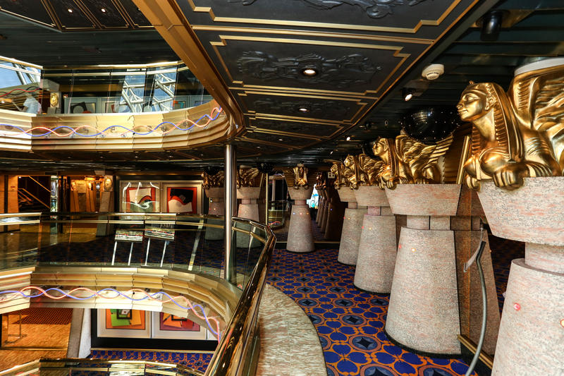 Atrium on Carnival Imagination
