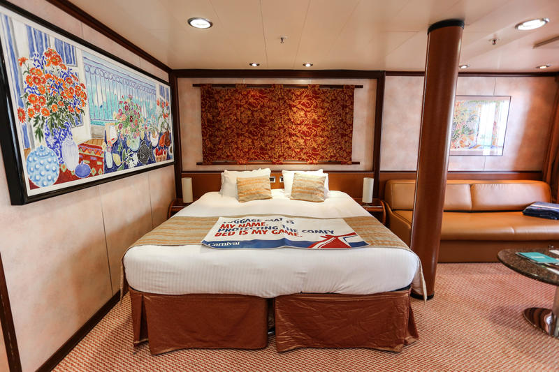 Grand Suite On Carnival Imagination Cruise Ship Cruise