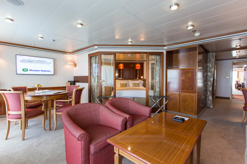 The Medallion Suite on Silver Whisper