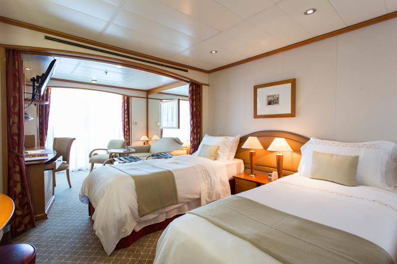The Terrace Suite (Twin) on Silver Whisper