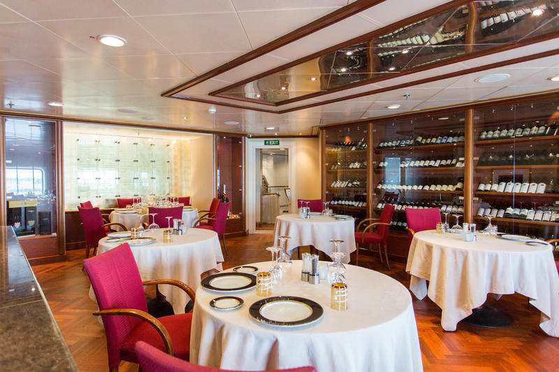 La Champagne on Silver Whisper