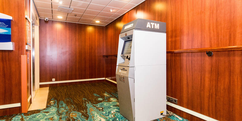 ATM on Pride of America