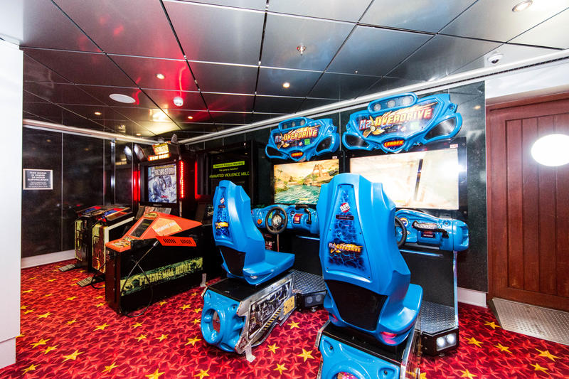 Blast Off Video Arcade on Pride of America