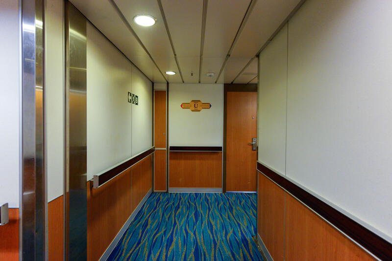 Hallways on Carnival Ecstasy