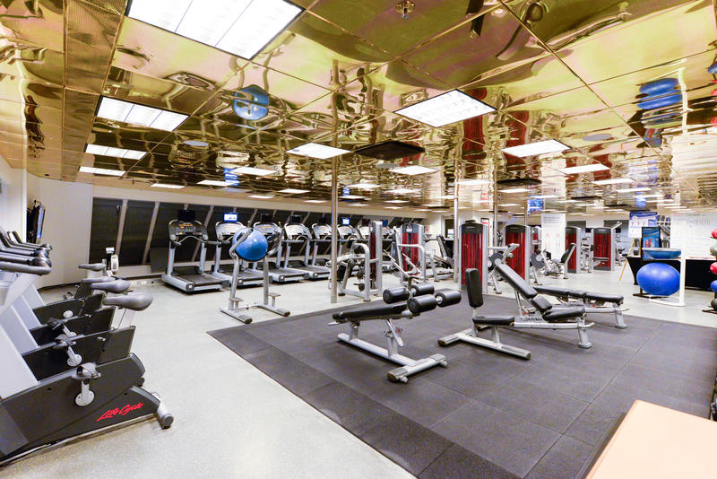 Fitness Center on Carnival Ecstasy