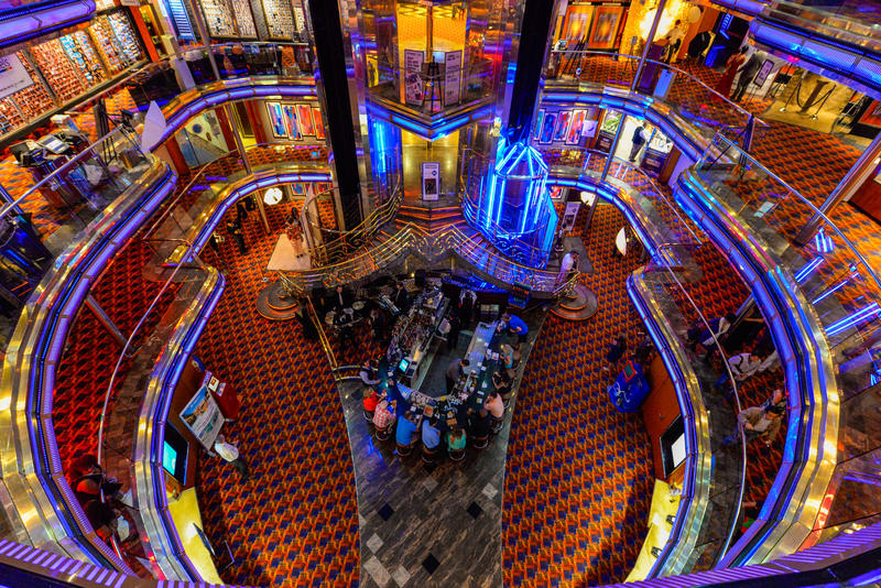 Atrium on Carnival Ecstasy