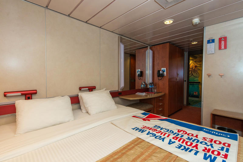 The Accessible Interior Cabin on Carnival Ecstasy