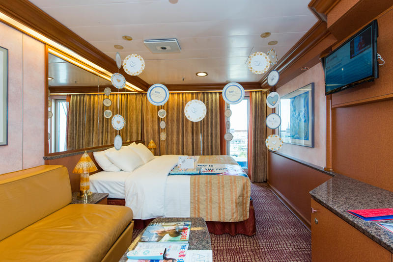 Junior Suite On Carnival Ecstasy Cruise Ship